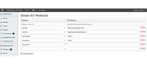 Simple 301 Redirects - WordPress SEO Eklentileri ve SEO Ayarları
