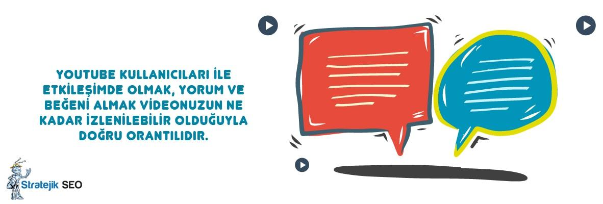 youtube kullanici etkilesimini arttirmak - Youtube SEO ile Youtube da Üst Sıralara Çıkmak İster Misiniz?