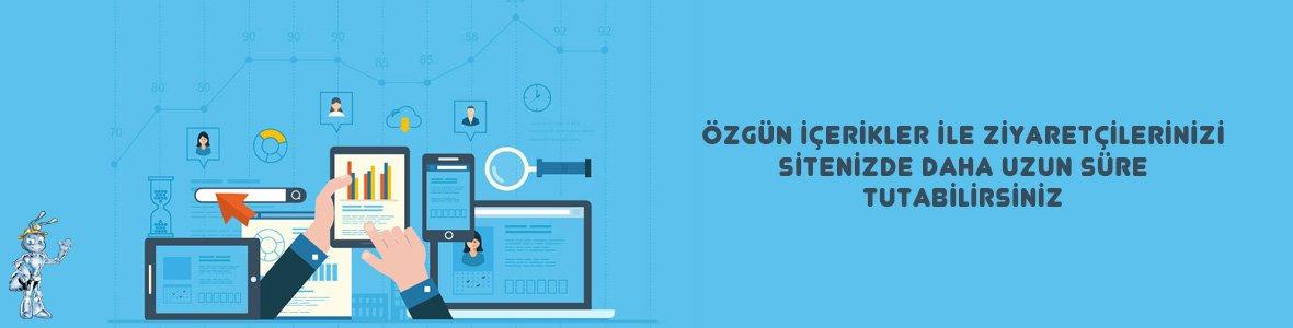 Site icerigi - Google Analytics Kullanım Rehberi - Kullanıcı Deneyimini Arttıracak Araçlar