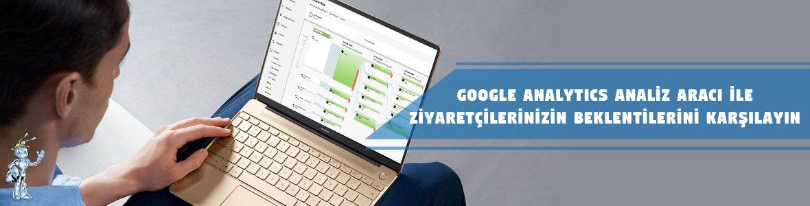 Google Analytics Kullanım Rehberi - Kullanıcı Deneyimini Arttıracak Araçlar