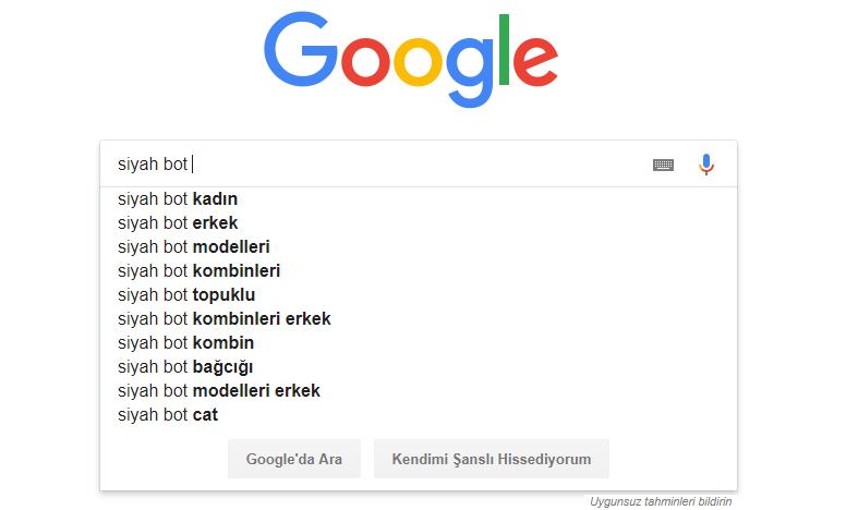 google aram - Anahtar Kelime Araştırması ve SEO Araçları