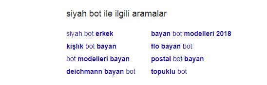 google arama 2 - Anahtar Kelime Araştırması ve SEO Araçları