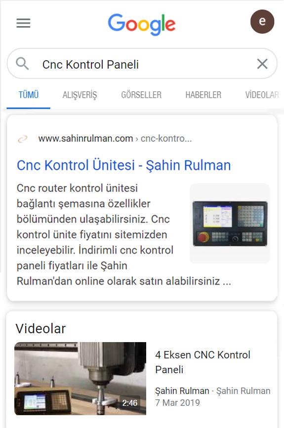 Şahin Rulman SEO Başarı Hikayesi